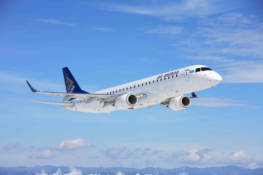 Air Astana Embraer 190