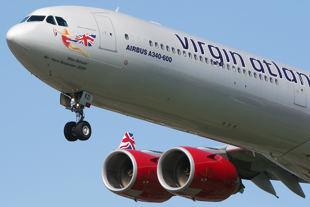 Virgin Atlantic A340-600