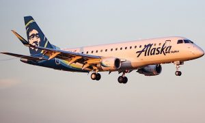 Alaska Airlines Skywest Embraer 175