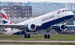 British Airways CityFlyer Embraer 190