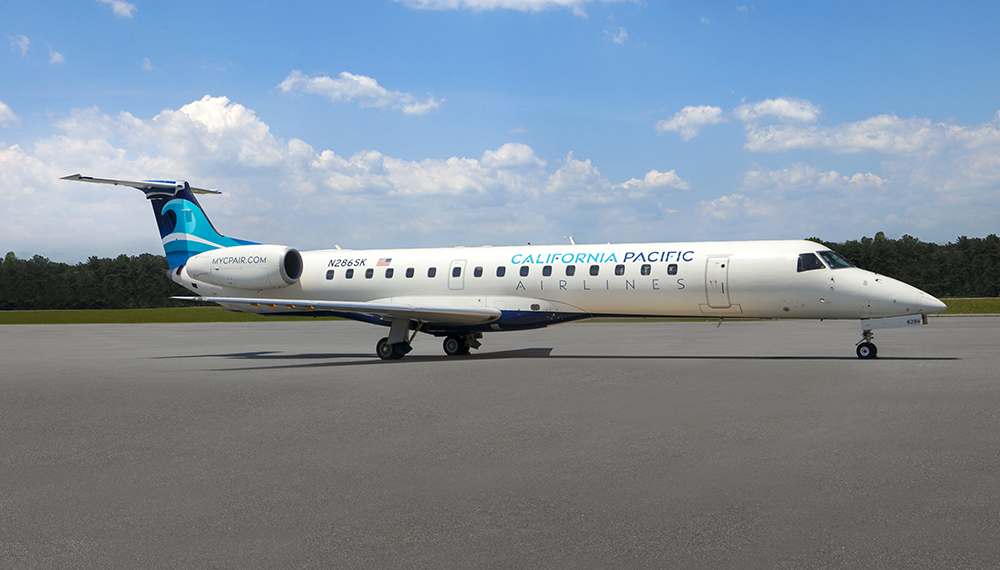 California Pacific Airlines Embraer 145
