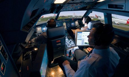 CAE Full Flight SImulator