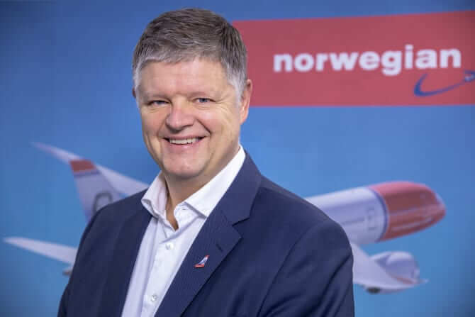 Norwegian CEO Jacob Schram
