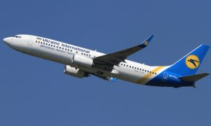 Ukraine International Boeing 737-800