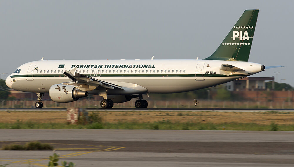 Pakistan International Airlines A320