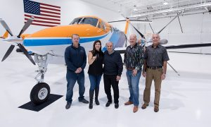 Stamoules Produce Company takes delivery of Beechcraft King Air 360