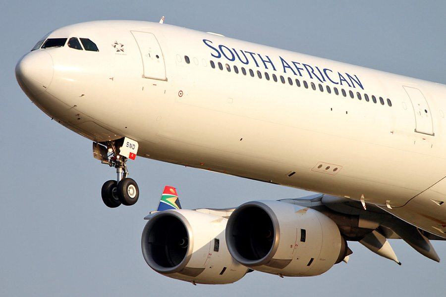 South African Airways A340