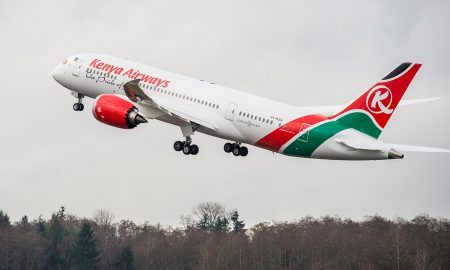 Kenya Airways B787