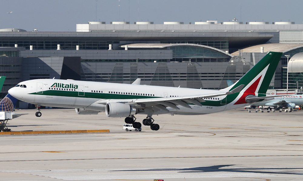 alitalia to resume service between india and italy