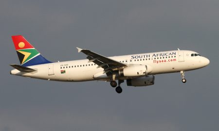 South African Airways A320