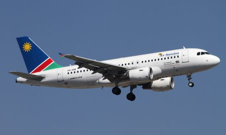 Air Namibia A319