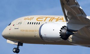 Etihad Airways Boeing 787