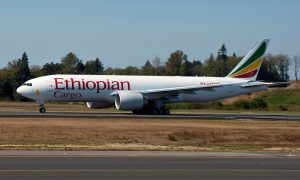 Ethiopian Airlines Boeing 777 Freighter