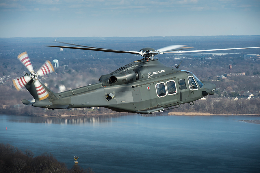 Boeing Selects AW139 Based MH 139 For 84 Aircraft Us Air