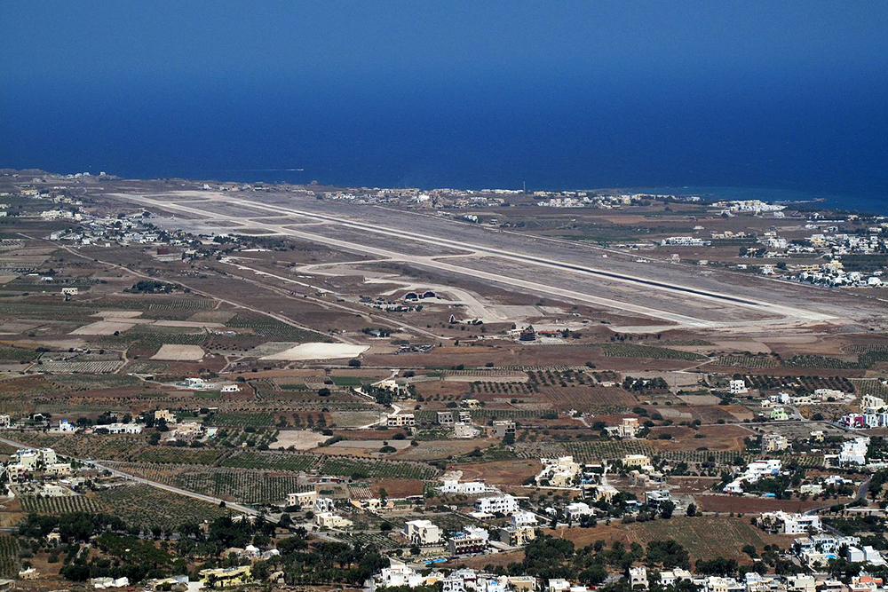 European Commission Santorini Airport