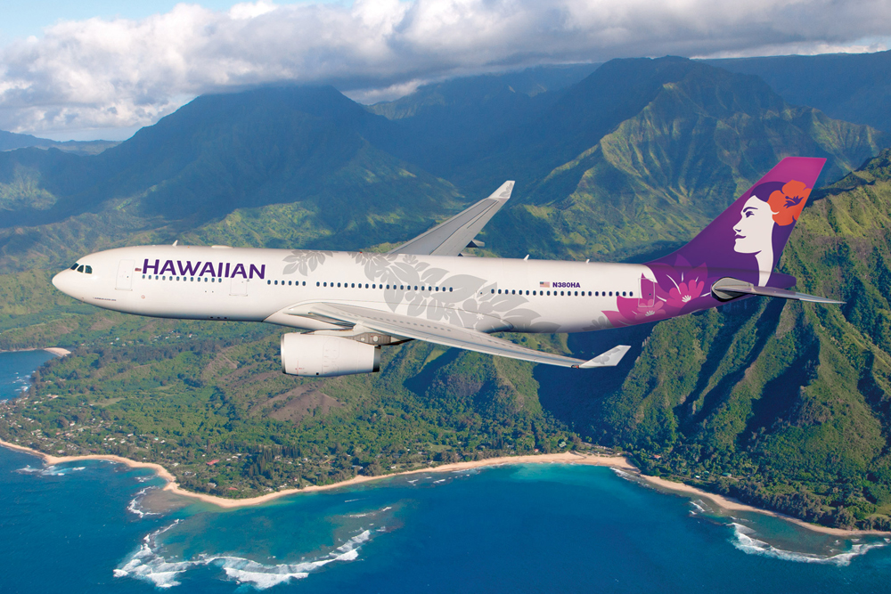 Hawaiian Airlines A330 New Livery