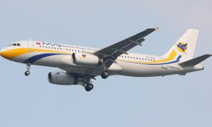 Myanmar Airways International A320