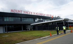 Kagamuga International airport, Mt Hagen