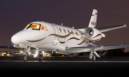 Cessna Citation 560XL Excel Silver Air