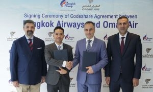 Oman Air Bangkok Airways Codeshare