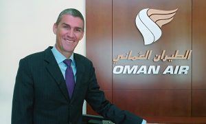 Paul Starrs Oman Air Chief Commercial Officer
