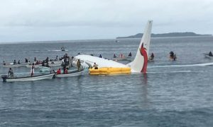 Air Niugini Boeing 737 Crash