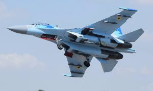 Ukrainian Air Force Sukhoi Su-27UB