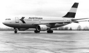 Austrian Airlines Retro Livery
